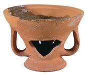 Clay vessel, Chafing dish (Saltsario)