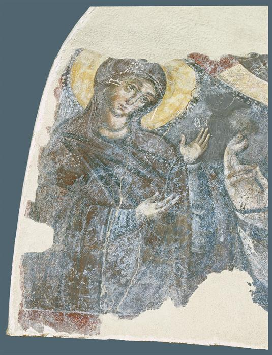 Virgin from a depiction of Deesis