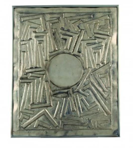 Untitled Relief, Alphavitos Series (E-2)