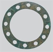 Copper alloy hoop (polykandelon) with insiced inscription Copper alloy hoop (polykandelon)