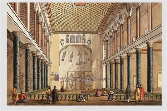 Εσωτερικό Mονής Στουδίου (Ιμραχόρ τζαμί)