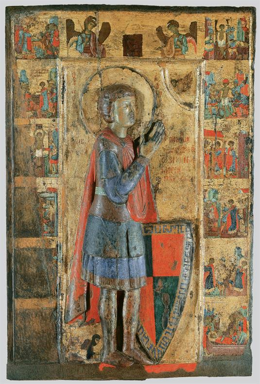 St George and scenes from his life and saints St George and scenes from his life  St George and scenes from his life