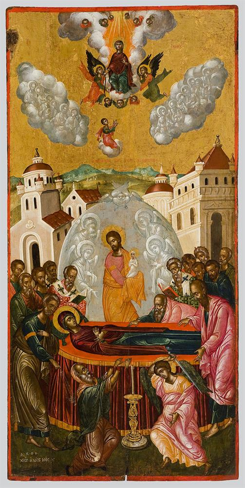 The Dormition and Assumption of the Virgin