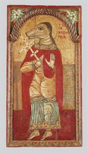 Saint Christopher (depicted with the head of a dog)