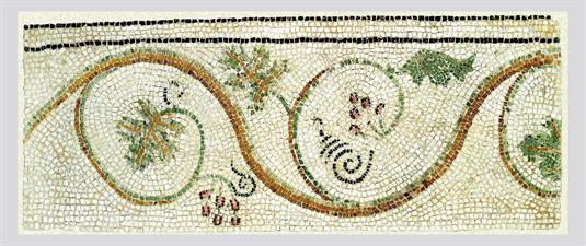 Part of a mosaic Floor