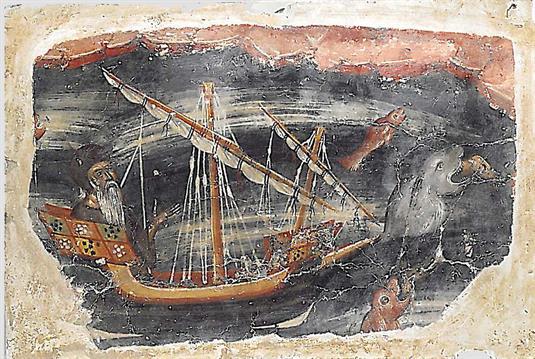 Μοναχός σε πλοίο