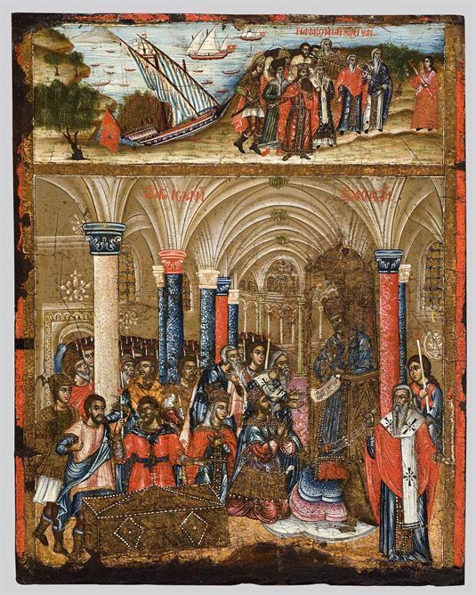 Ανακομιδή του λειψάνου του αγίου Ιωάννη Χρυσοστόμου