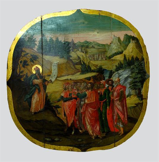 The sermon of the Prophet Isaiah.