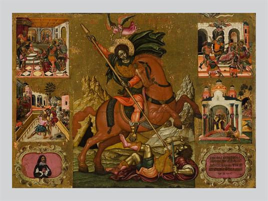 Saint Demetrios and Scenes from his Life