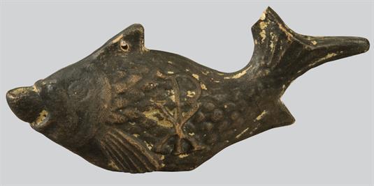 Κρεμαστό λυχνάρι σε σχήμα ψαριού