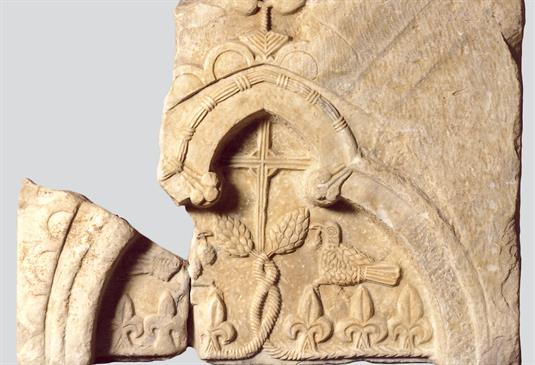 Marble Arcosolium (funeral monument)