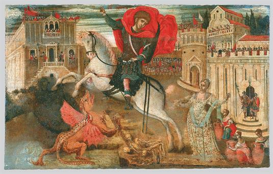 Saint George the Dragon-Slayer